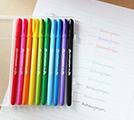 레인보우젤 10본 펜 세트